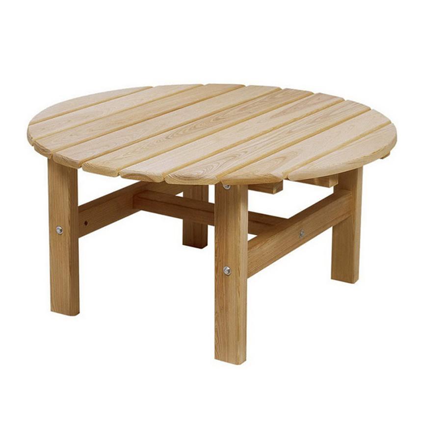 Как сделать деревянный круглый стол